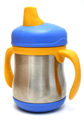 Picture of a BPA free sippy cup