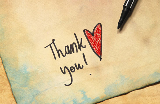 Showing gratitude is good for your health