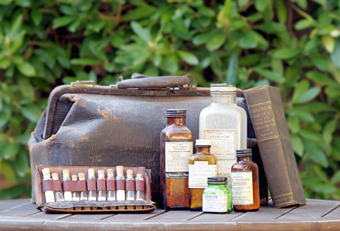 Dr. John Bastyr's medical bag