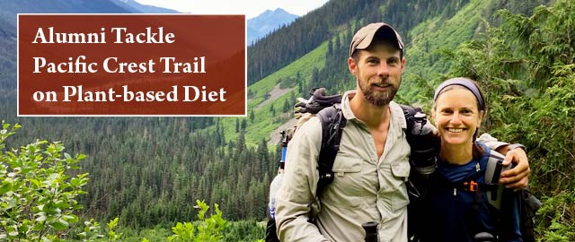 Bastyr alumni hike PCT on a plant-based diet