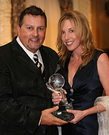 Dwayne Clark, along with his wife Terese, were recently honored with the 2008 Bastyr University Mission Award
