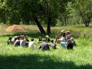Herbal medicine foraging in Oregon / photo courtesy Karen McCoy