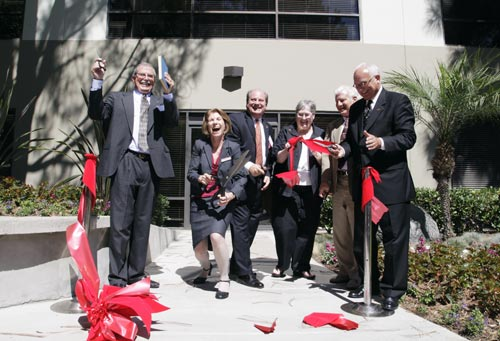 Ribbon cutting at Bastyr University California