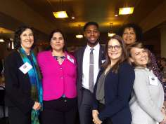 Master of Public Health Students at Lobby Day