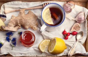 ginger tea, tea, tea with lemon