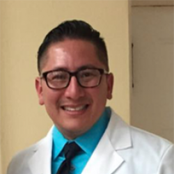 Francisco Miranda in white coat