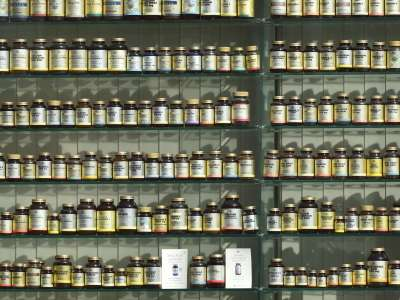 Photo of natural remedies on shelf