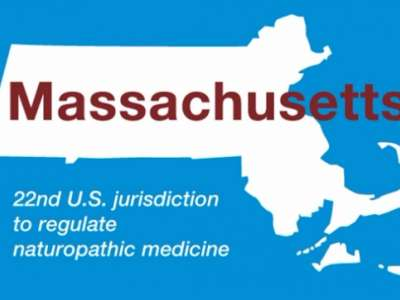 Massachusetts: 22nd U.S Jurisdiction to regulate naturopathic medicine