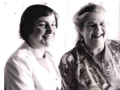 Penny Simkin with Sheila Kitzinger