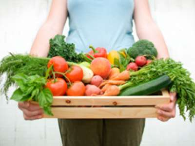 Picture of fresh vegetables