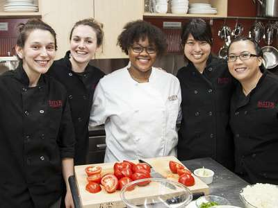 Winning Team of Bastyr's 7th Annual Top Chef competition
