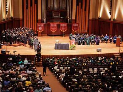Bastyr Kenmore's 2016 graduation ceremony at Benaroya Hall