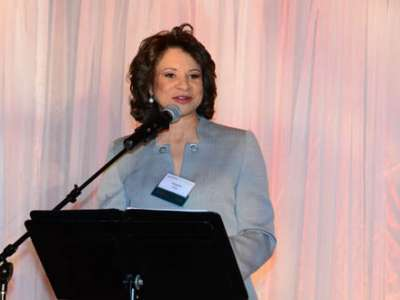 Mistress of Ceremonies Angela King of Northwest Cable News (NWCN)