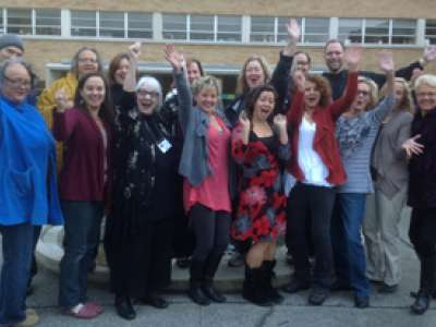 Classmates in the fall 2012 Hypnotherapy: Awareness & Integration class.