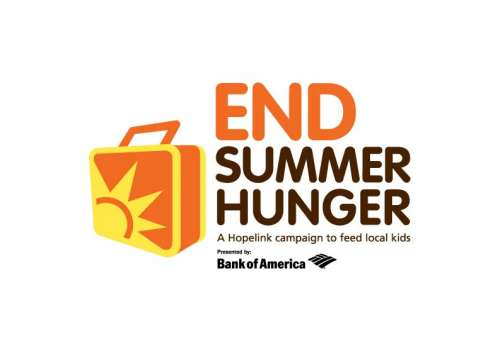 "Hopelink logo for ""End Summer Hunger""."