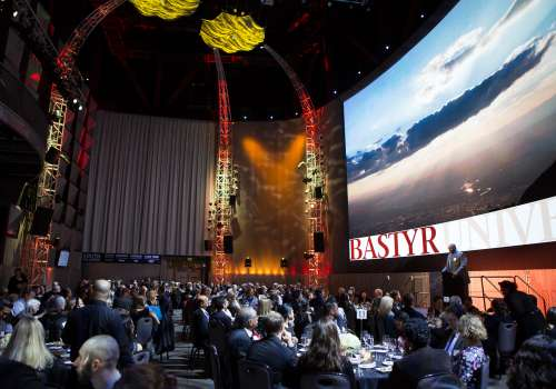 Bastyr Founder's Award dinner at the Museum of Pop Culture, MoPOP