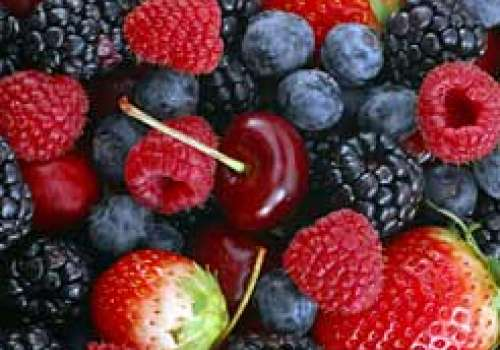 Picture of mixed berries