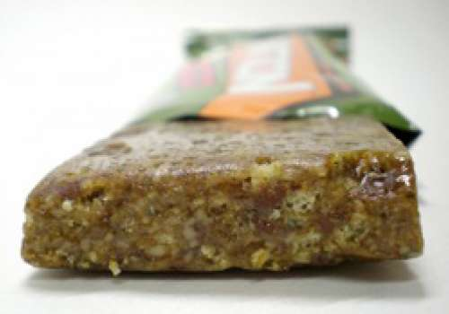 Partially unwrapped energy bar