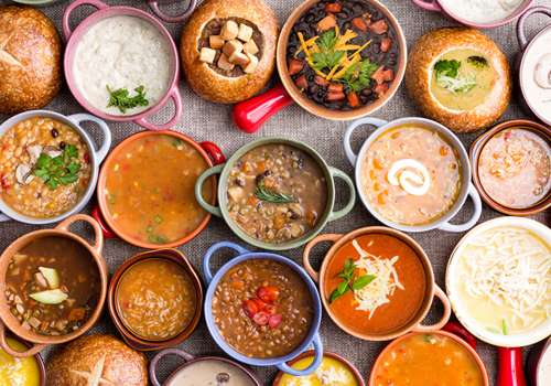 A Variety of Soups