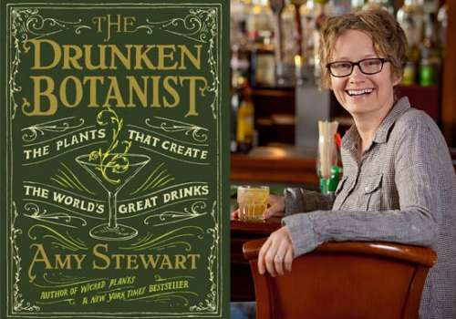 Book cover and Stewart in bar