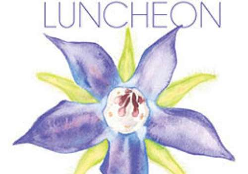 Spring for health Luncheon invite