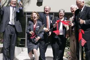Ribbon-cutting at Bastyr University California.