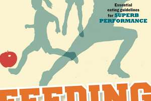 """Feeding the Young Athlete"" book cover."