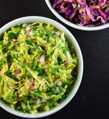 Chipotle Coleslaw in bowl