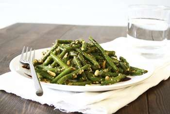 Green Bean & Sesame Salad